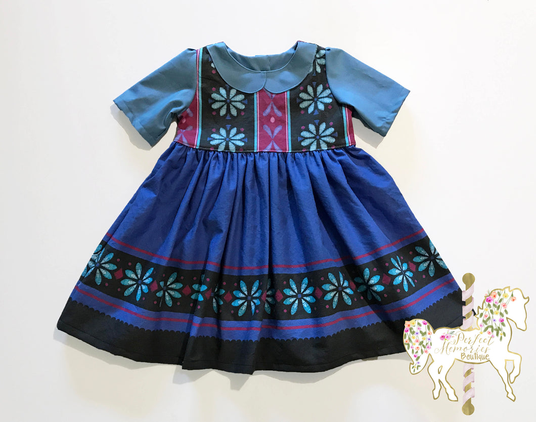 Little Elsa Dress