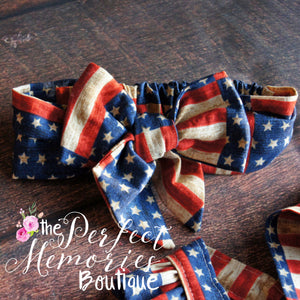Grand Ole Flag Dress & Headband Set