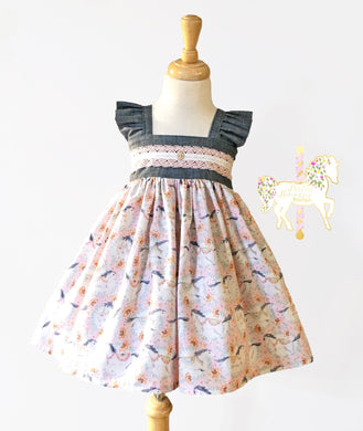 Country Horses Dress