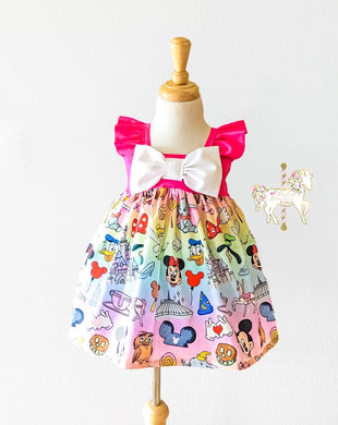 Disney Parks Dress - Only 1 Left!