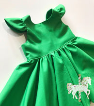 Classic Green Party Dress