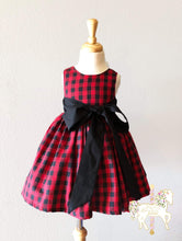 Buffalo Plaid Party Dress
