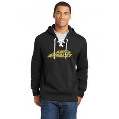 Air Assault Lace Up Hoodie - Player's Edge - Wisconsin - 1