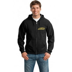 Air Assault Full-Zip Hooded Sweatshirt - Player's Edge - Wisconsin - 1