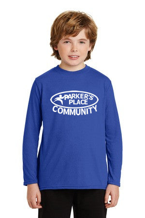 Parker's Place Youth Performance Long Sleeve Tee