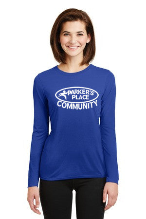 Parker's Place Ladies Performance Long Sleeve Tee