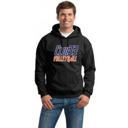Club 33 Hooded Sweatshirt - Player's Edge - Wisconsin - 1