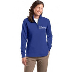 Ladies 1/4-Zip Sweatshirt - Player's Edge - Wisconsin