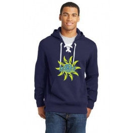 PoWer Beach Lace Up Hoodie - Player's Edge - Wisconsin