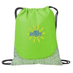 PoWer Beach Patterned Cinch Pack - Player's Edge - Wisconsin - 1