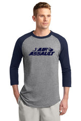 Air Assault Colorblock Raglan Jersey - Player's Edge - Wisconsin