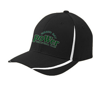PoWer Green Bay Flexfit Colorblock Cap