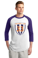 Club 33 Colorblock Raglan Jersey - Player's Edge - Wisconsin - 1