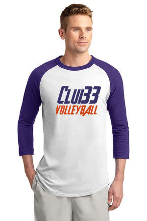 Club 33 Colorblock Raglan Jersey - Player's Edge - Wisconsin - 2