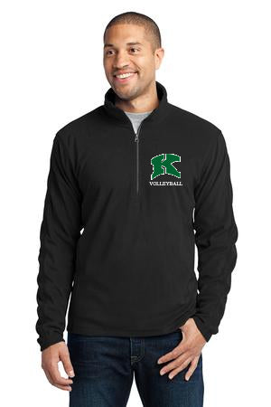2017 Kewaskum Volleyball Microfleece 1/2-Zip Pullover