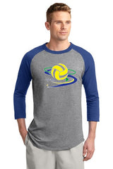 Fusào Colorblock Raglan Jersey - Player's Edge - Wisconsin - 1