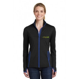 Fusào Ladies Sport-Wick Stretch Contrast Jacket