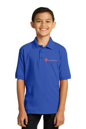 SPPCS Youth Core Blend Jersey Knit Polo