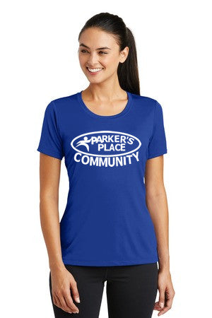 Parker's Place Ladies Posicharge Tough Tee