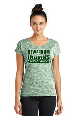 2017 Kewaskum Womens PosiCharge Electric Heather Tee