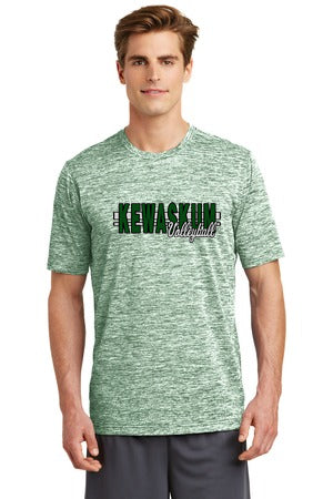 2017 Kewaskum Mens PosiCharge Electric Heather Tee