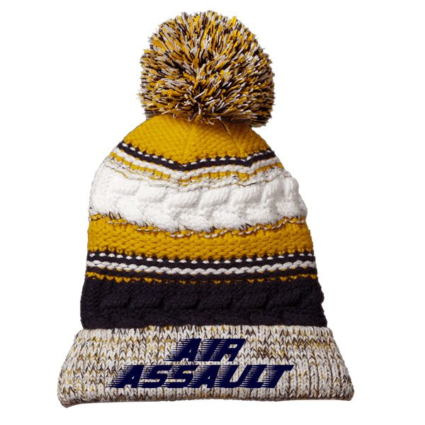 Air Assault Pom Pom Team Beanie