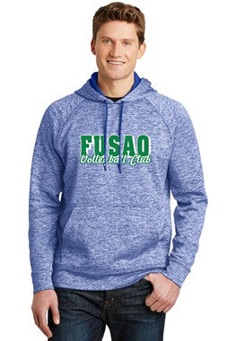 Fusào Heathered Fleece Hoodie