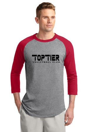 Top Tier Colorblock Raglan Jersey - Player's Edge - Wisconsin - 2