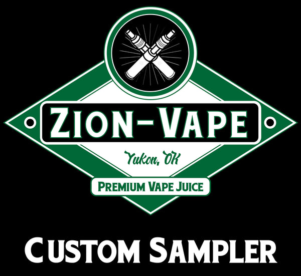 5 Pack Zion Custom Sampler 150ml Total - Zion-Vape