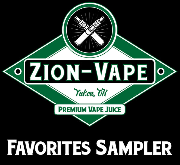 5 Favorites Sampler Pack 150ml total - Zion-Vape