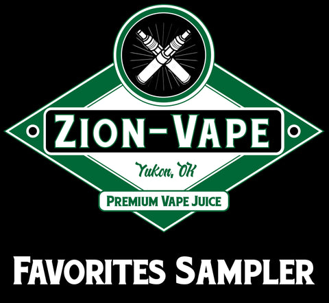 5 Favorites Sampler Pack 50ml Total - Zion-Vape