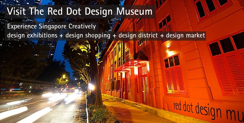 Experience Singapore Creatively - The Red Dot Design Museum