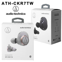 Audio Technica ATH-CKR7TW True Wireless Earbuds TWS (Black)