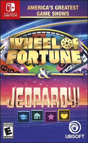 America's Greatest Game Shows: Wheel of Fortune & Jeopardy! (Nintendo Switch)
