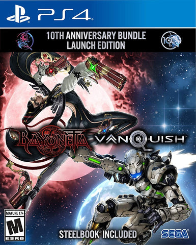 Bayonetta & Vanquish 10th Anniversary Launch Steelcase Edition (PS4) - GameShop Asia