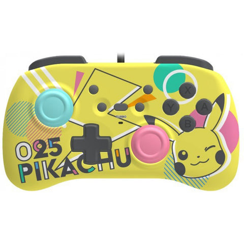 Hori Mini Wired Controller for Nintendo Switch Pikachu - GameShop Asia