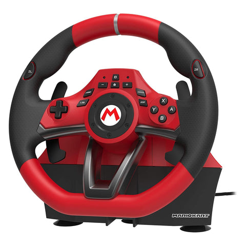 Hori Mario Kart Racing Wheel Pro Deluxe for Nintendo Switch - GameShop Asia