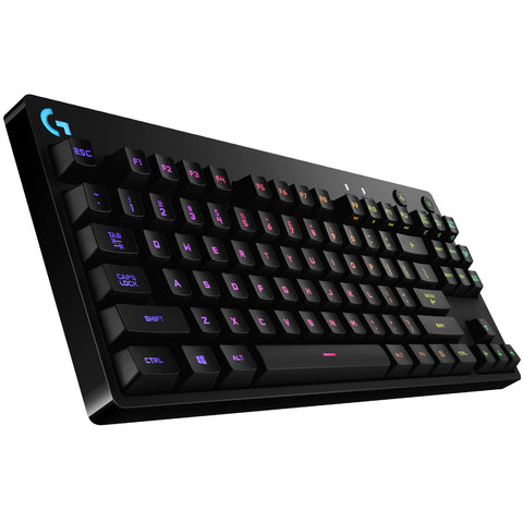 Logitech G PRO X Mechanical RGB Wired Gaming Keyboard - GameShop Asia
