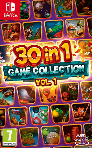 30 in 1 Game Collection Vol 1 (Nintendo Switch) - GameShop Asia