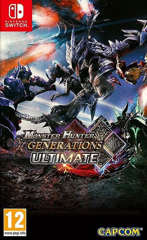 Monster Hunter Generations Ultimate (Switch) - GameShop Asia