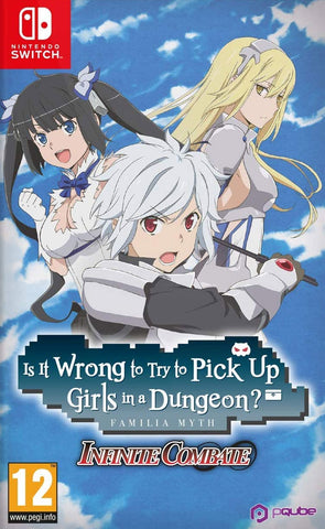 Is It Wrong to Try to Pick Up Girls in a Dungeon? Infinite Combate (Nintendo Switch) - GameShop Asia