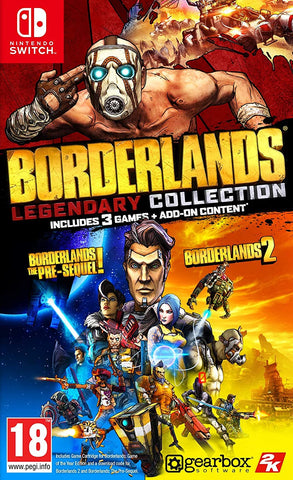 Borderlands Legendary Collection (Nintendo Switch) - GameShop Asia