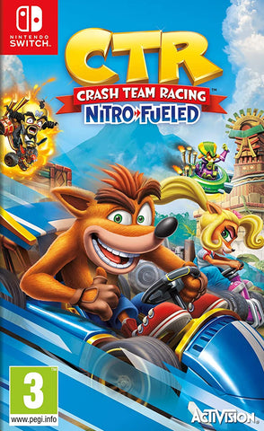 Crash Team Racing Nitro-Fueled (Nintendo Switch) - GameShop Asia