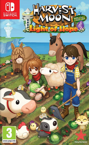 Harvest Moon Light of Hope Special Edition (Nintendo Switch) - GameShop Asia