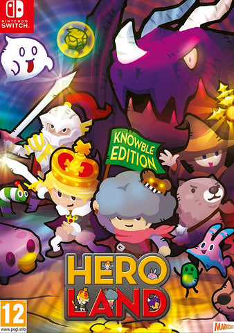 Heroland Knowble Edition (Nintendo Switch) - GameShop Asia
