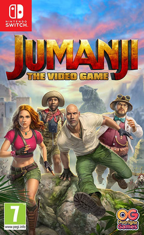 Jumanji The Video Game (Nintendo Switch) - GameShop Asia