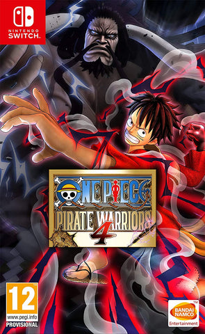 One Piece Pirate Warriors 4 (Nintendo Switch)