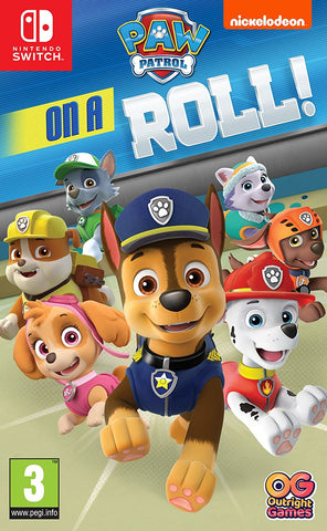 Paw Patrol: On A Roll with Travel Case Bundle (Nintendo Switch) - GameShop Asia