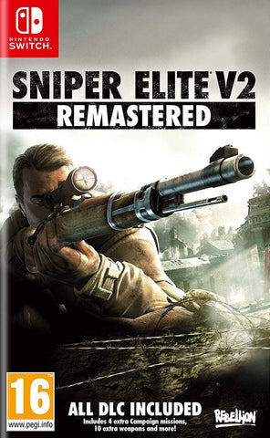 Sniper Elite V2 Remastered (Nintendo Switch) - GameShop Asia