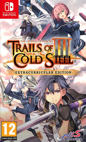 The Legend of Heroes: Trails of Cold Steel III Extracurricular Edition (Nintendo Switch) - GameShop Asia